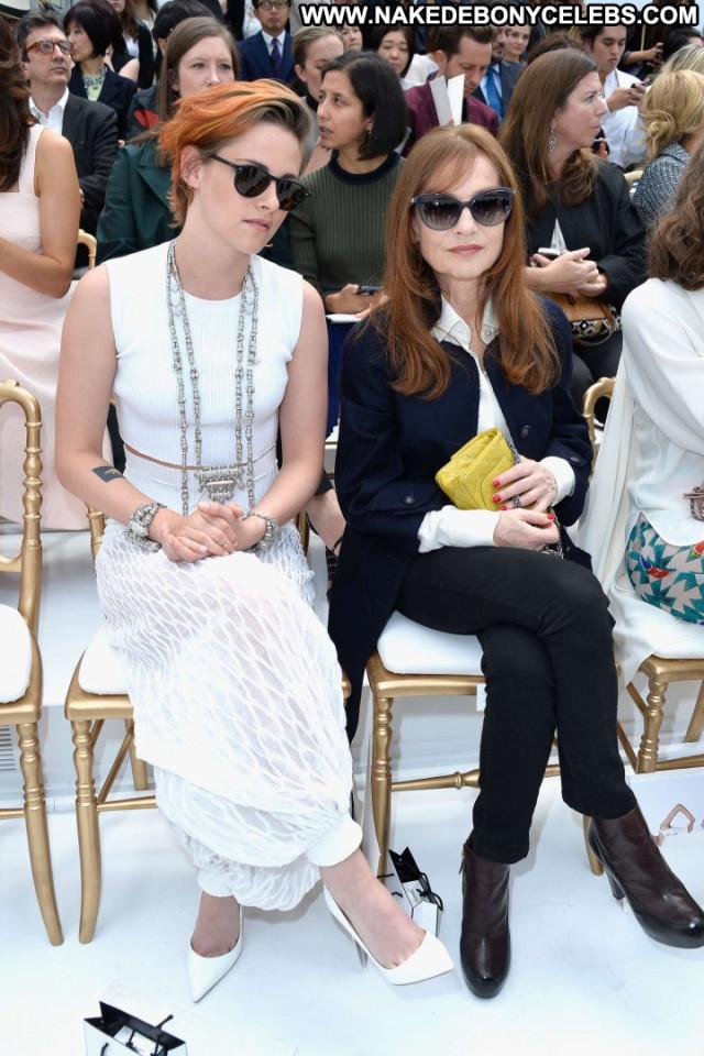 Kristen Stewart Fashion Show Fashion Posing Hot Babe Celebrity Paris