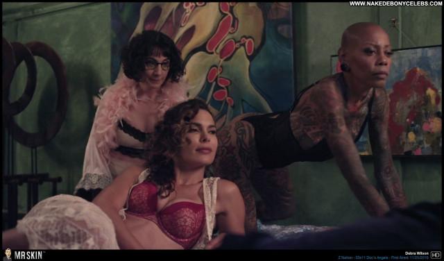 Debra Wilson Z Nation Doll Sultry Big Tits Brunette Celebrity Sexy