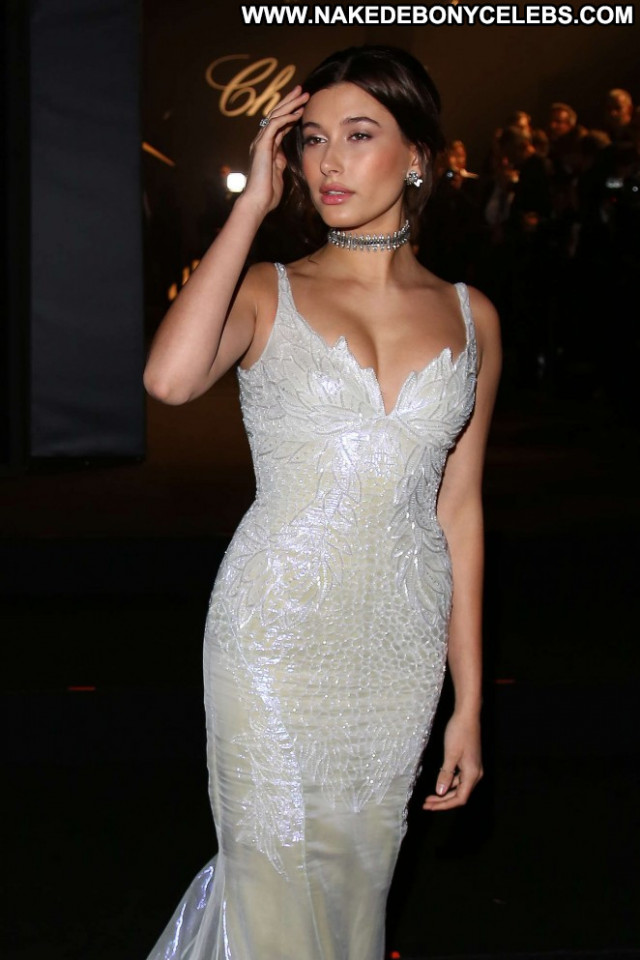 Hailey Baldwin Cannes Film Festival Posing Hot Celebrity Beautiful