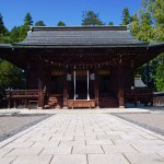 A house to worship the soul of famous warlord, Uesugi Kenshin