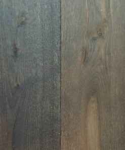 Henge Oak Dark Grey Mixed Width Wood Flooring Naked Floors