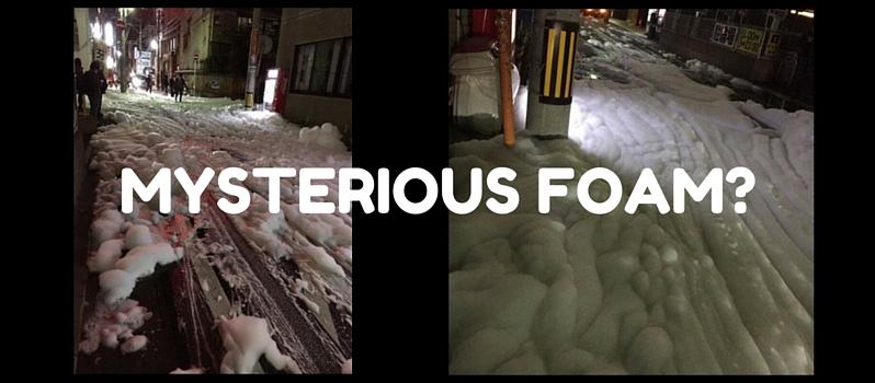 Japan Earthquake Foam