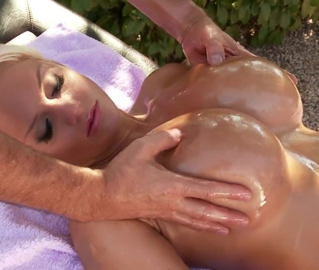 A Sexy Milf Got A Sensual Massage Of Her Big Boobs And Wet Pussy