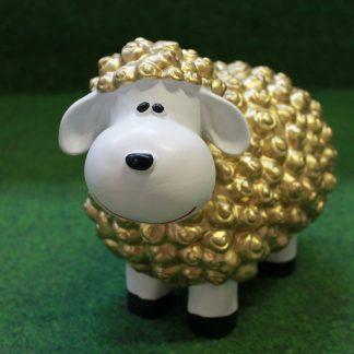 Mini lam wol goud
