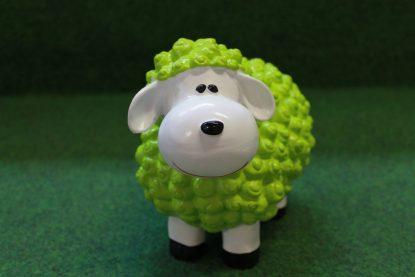 Mini lam wol groen