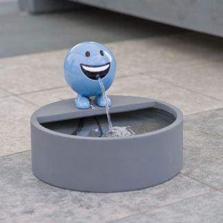 ubbink spuitfiguur be happy blauw xl met reservoir en pomp