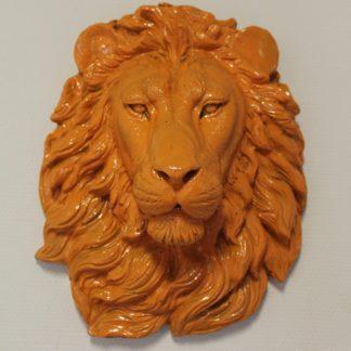 Leeuwenkop oranje
