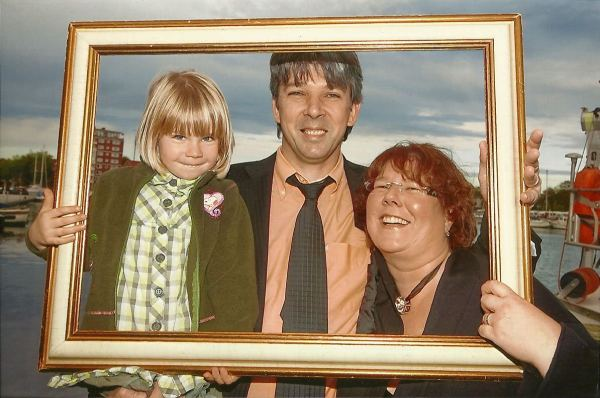 Rieka, Tanja und Jürgen