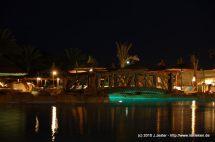 Pool mit Unterwasserbeleuchtung