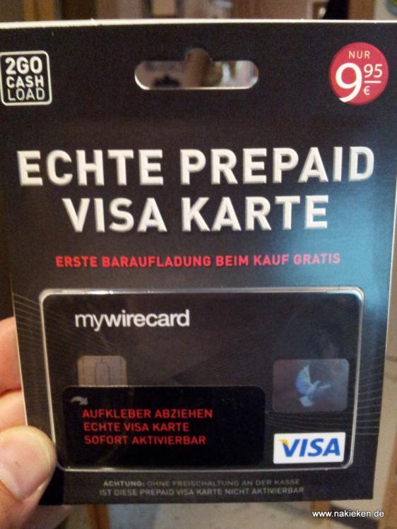 Prepaid Visa Wirecard