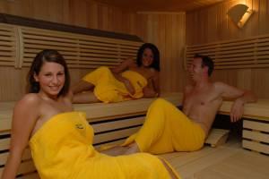 Die Sauna im Nautimo