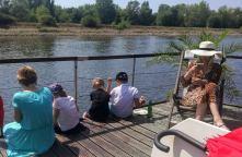 Spass auf der Elbe