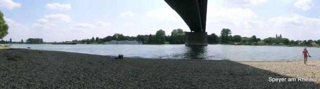 Unter der Rheinbrücke