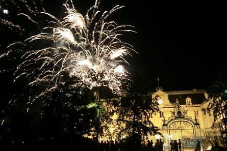 Feuerwerk Feiertrag