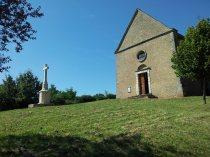 Kapelle der Burg Berzé le Châtel