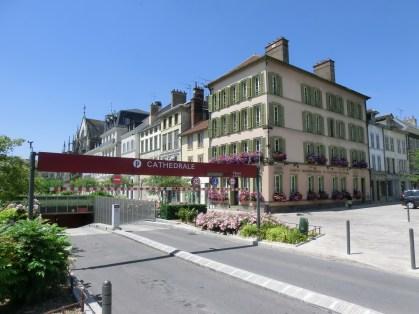 Parkplatz im Zentrum von Troyes