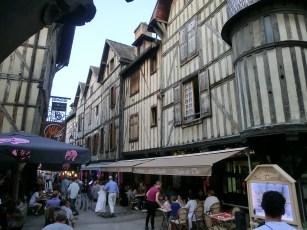 Troyes Fussgängerzone