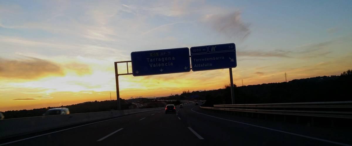 Mit dem Auto nach Spanien fahren