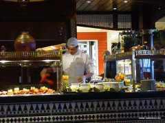Restaurant an Bord der Aida