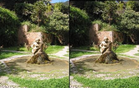 La Granja Brunnen 3D