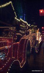 Weihnachtsumzug in Slagharen