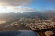Landanflug Flughafen Gran Canaria