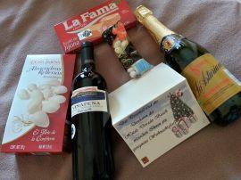 Weihnachtsgeschenke vom Hotel