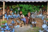 Keramik Marktstand