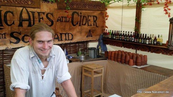 Ales uns Cider aus Scotland