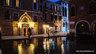 Wasserwege durch Venedig