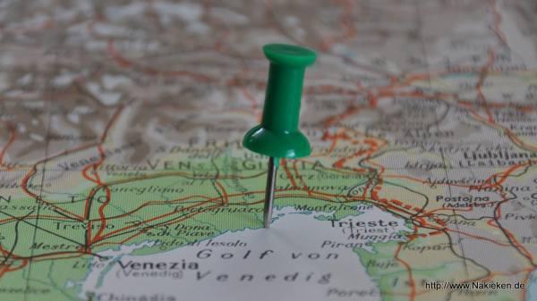 Bibione auf der Landkarte