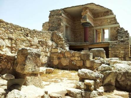 Palastruine Knossos