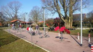 Spielplatz am Park
