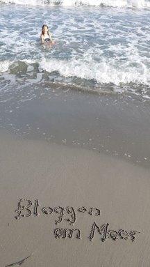 Bloggen am Meer