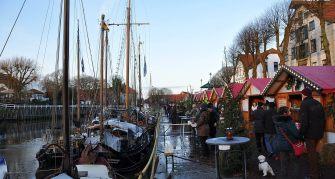 Wintermarkt Buden