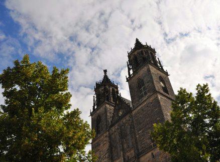 Türme des Doms von Magdeburg