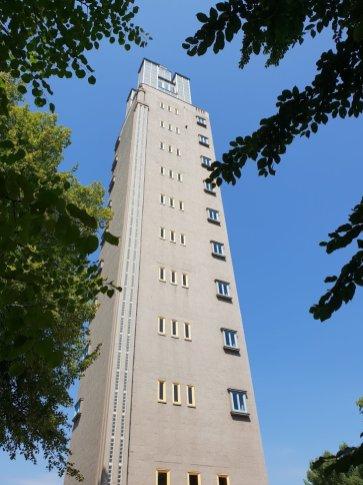 Rauf auf den Albin Müller Turm