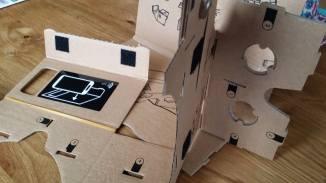 Cardboard falten