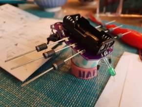 Grille MK185 noch im Aufbau
