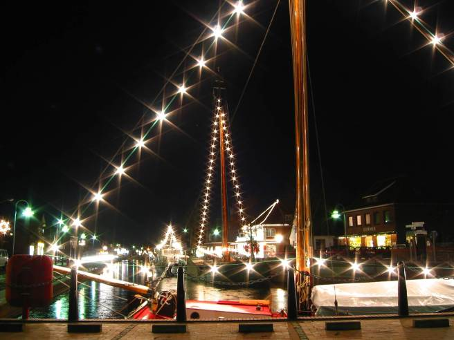 Weihnachten am Kanal von Rhauderfehn