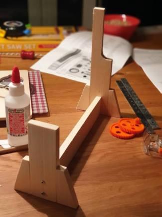 Holzrahmenkonstruktion