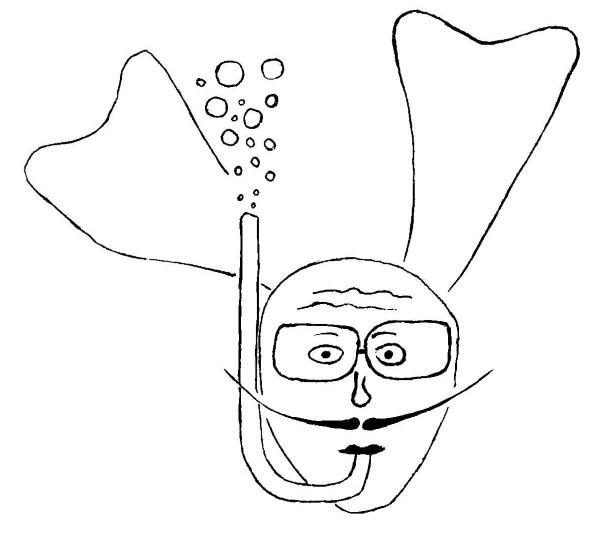 Ctihodný potápěč
