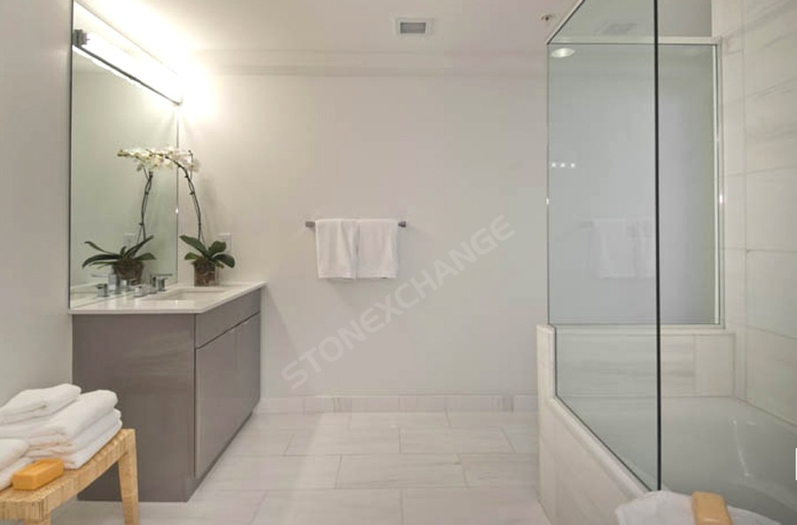 Pros and Cons of Marble Bathroom Flooring   Nalboor Pros and Cons of Marble Bathroom Flooring