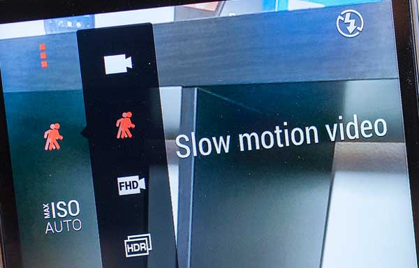 Запись замедленного видео-HTC-One-M8