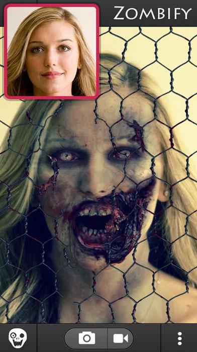 зомби будка 2 хэллоуин приложение 2014