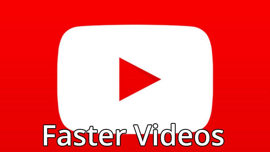 приложение youtube быстрее загружает видео