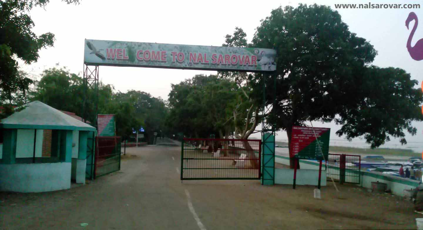 Facilities at Nal Sarovar Lake Near Ahmedabad, Gujarat