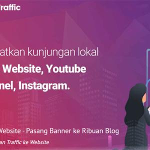 Iklan Banner RajaTraffic.com