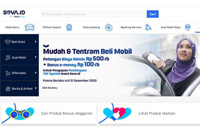 SEVA Tempat Mobil Online
