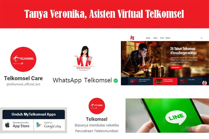Akses Tanya Veronika Asisten Virtual